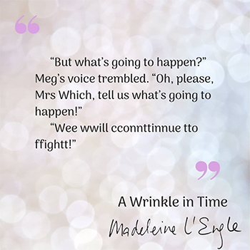 A Wrinkle In Time A Lesson In Perseverance