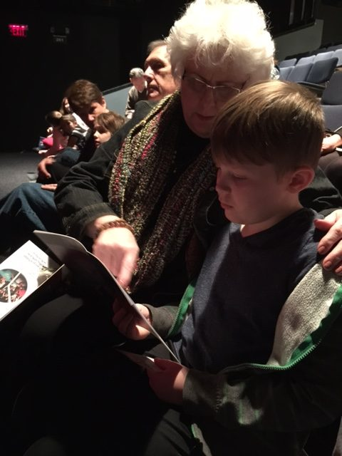 granny-pat-and-adam-reading-about-the-actors-in-the-program